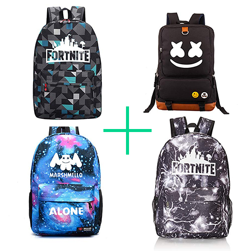 mochilas escolares fortnite