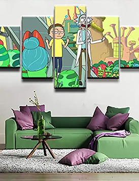 posters rick y morty