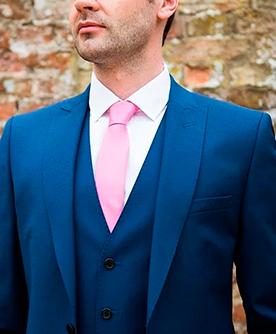 Corbata rosa. Colección de corbatas rosas con diseños